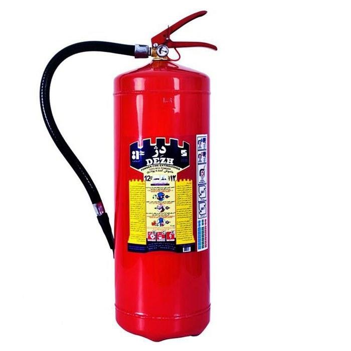 کپسول آتش نشانی (پودری) 12 کیلوگرمی دژ |