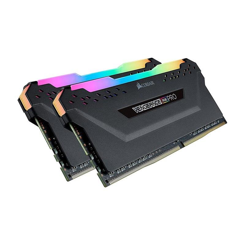 تصویر پک 32 گیگ رم CORSAIR VENGEANCE PRO 32GB (16GBx2) 3200MHZ DDR4 – کارکرده