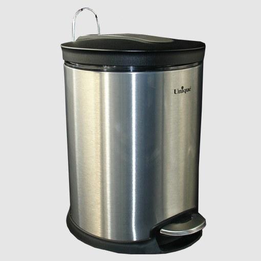 سطل زباله استیل 16 لیتری یونیک کد 4430