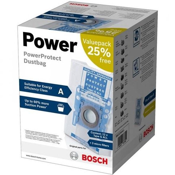 تصویر پاکت جارو برقی بوش مدل BOSCH POWER BBZ123GALL