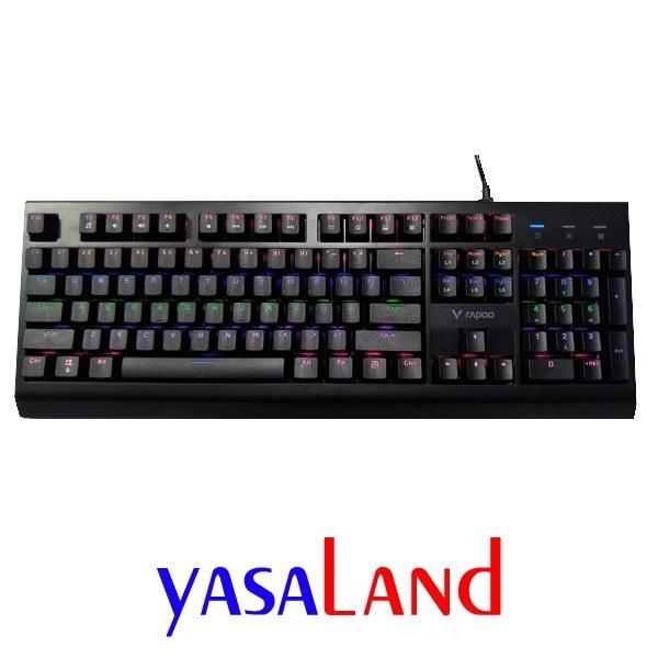 تصویر کیبورد مکانیکال گیمینگ باسیم V520 رپو Rapoo V520 Mechanical Gaming Keyboard کیبورد مکانیکال گیمینگ باسیم V520 رپو