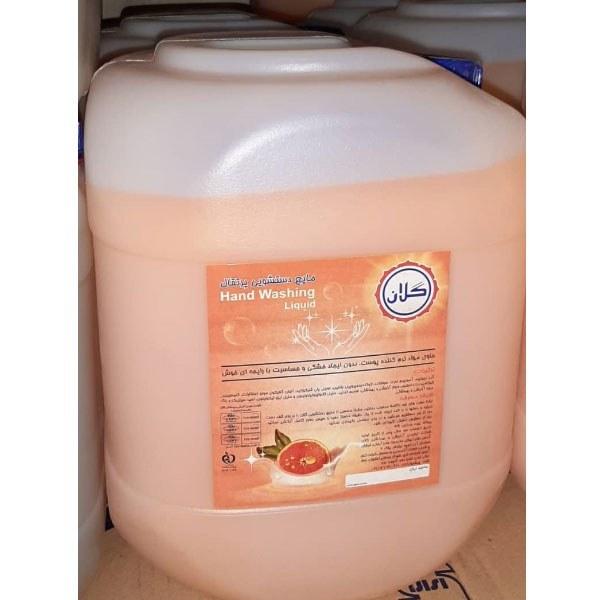 تصویر مایع دستشویی ۲۰ لیتری گلان