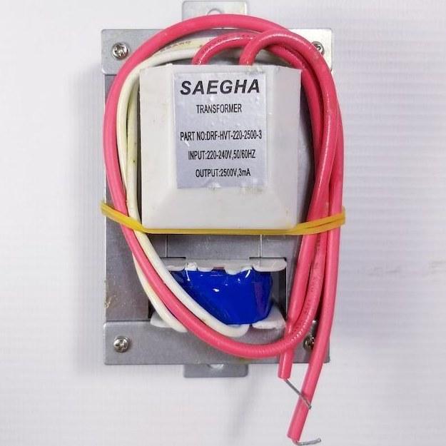 تصویر ترانس HVT (های ولتاژ) ۲۵۰۰v