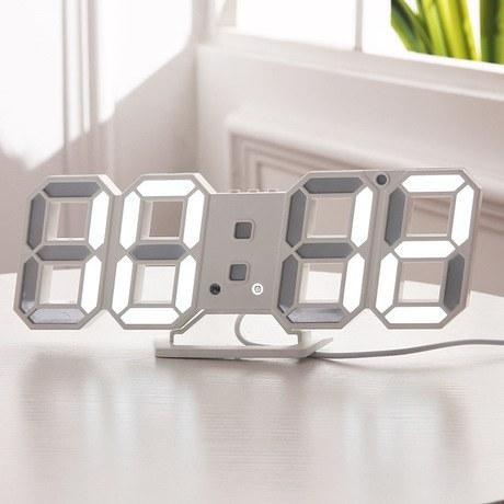 ساعت دیواری و رومیزی مدل X Segment Clock |