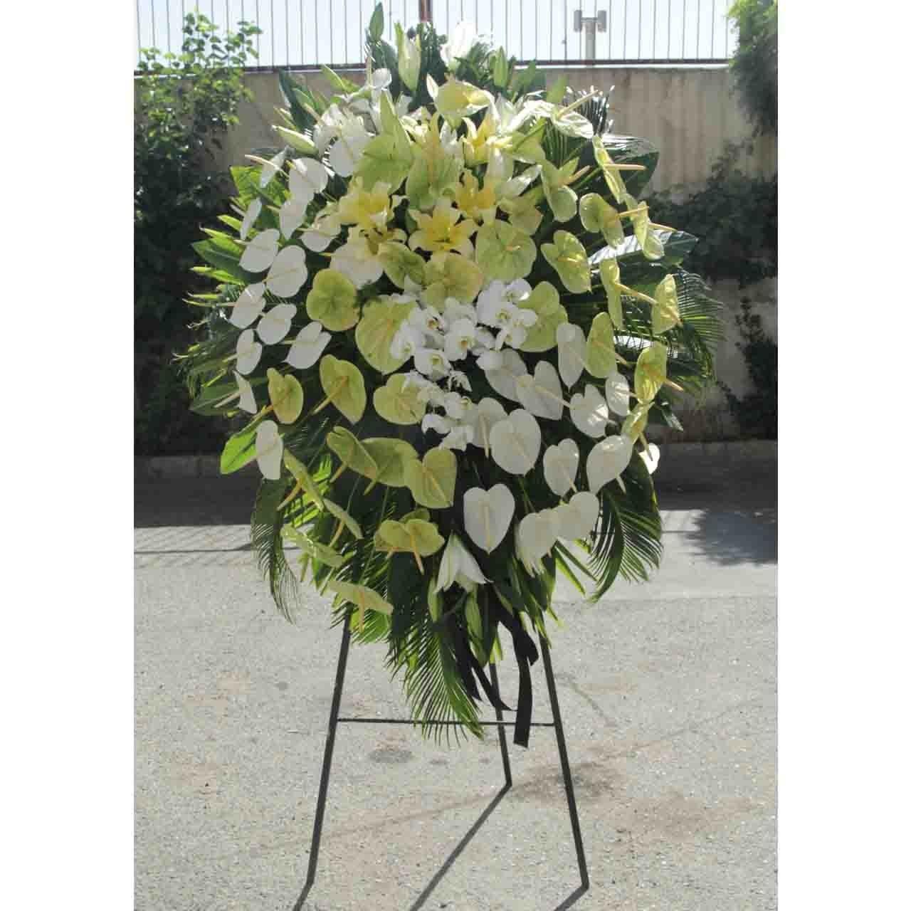 تصویر پایه گل ترحیم-5