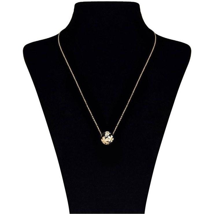 تصویر گردنبند طلا 18 عیار ماهک مدل MM0475