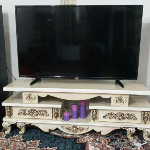 میز تلویزیون 4 تیکه (ارسال با کمترین هزینه )