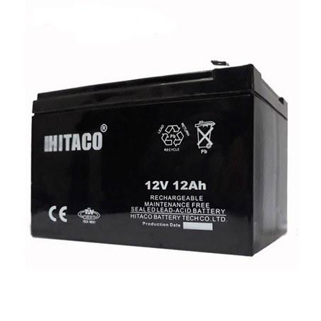 باتری یو پی اس 12 ولت 12 آمپر هیتاکو HB12-12