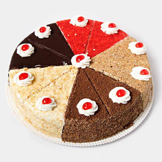 کیک برشی مخلوط بی بی |