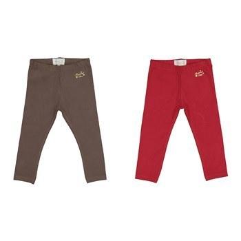 شلوار نخی نوزادی دخترانه مایورال مدل MA 70248 بسته 2 عددی | Mayoral MA 70248 Baby Girls Cotton Pants Pack Of 2