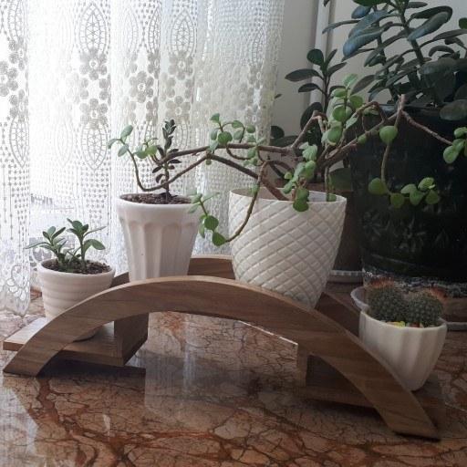 استند چوبی گل |