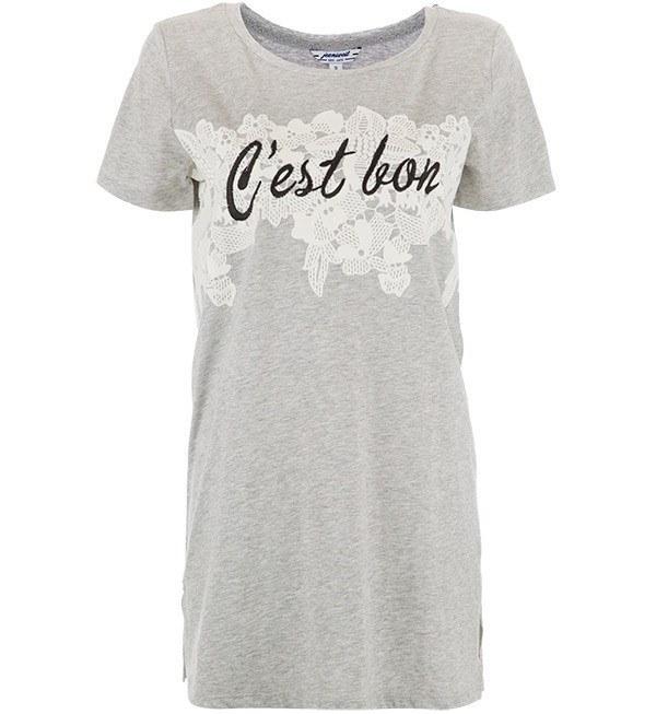 تی شرت بلند زنانه جین وست