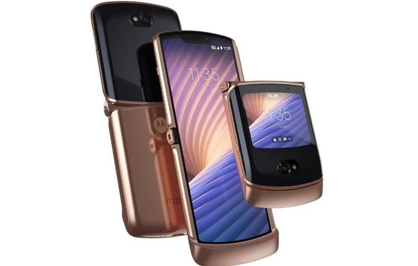 تصویر گوشی موتورولا Razr 2020 5G (Razr gen 2) | حافظه 256 رم 8 گیگابایت Motorola Razr 2020 5G (Razr gen 2) 256/8 GB