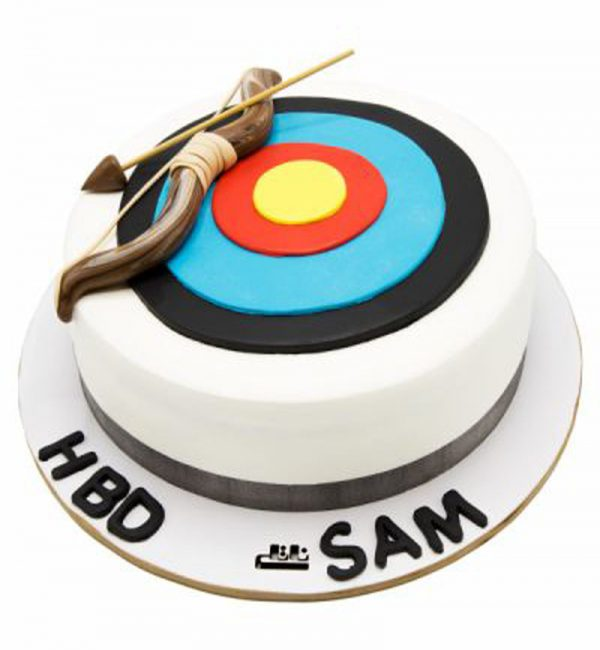 کیک تولد پسرانه تیر کمان |
