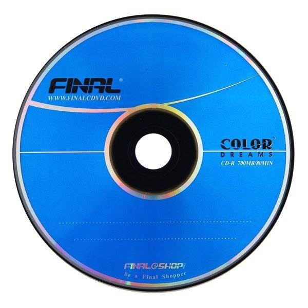 سی دی خام فینال طلائی باکسدار 50 عددی |