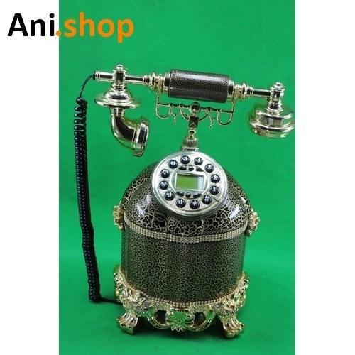 تصویر تلفن پلی استر قهوه ای کد AM7