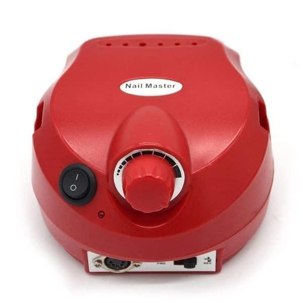 سوهان برقی ناخن نیل مستر مدل ZS-601 قرمز