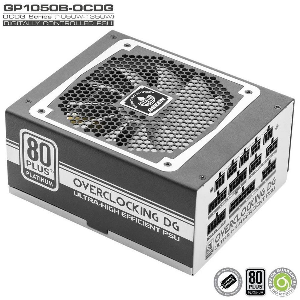 تصویر Green GP1050B-OCDG 80PLUS Platinum Modular Power Supply منبع تغذیه ماژولار گرین مدل GP۱۰۵۰B-OCDG