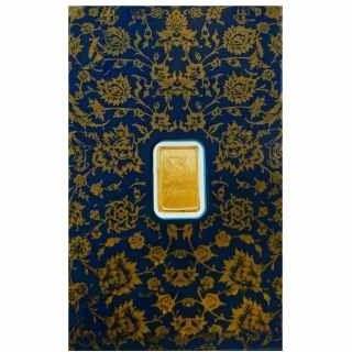 شمش طلا 24 عیار پارسیس کد B100 |