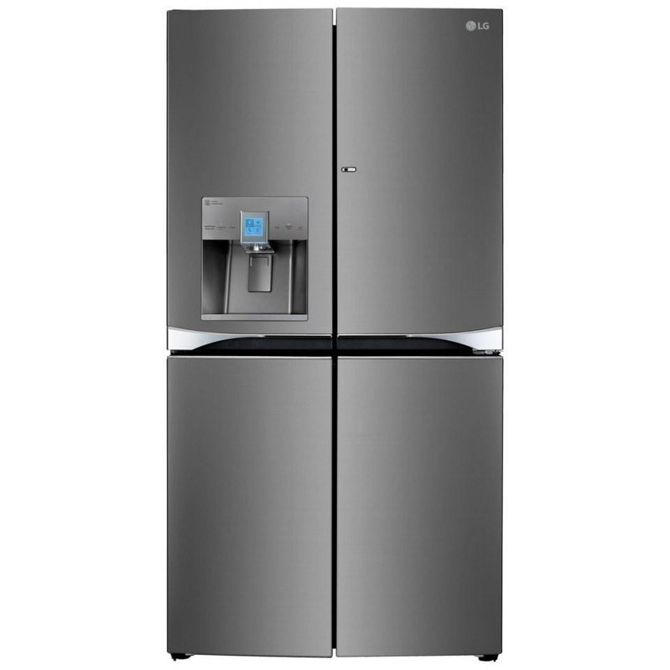 تصویر یخچال فریزر ساید بای ساید ال جی مدل  J34  LG Side by Side Refrigerator J34