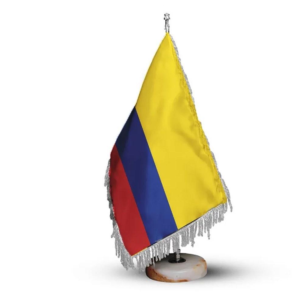 تصویر پرچم رومیزی و تشریفات کشور کلمبیا کد P1118