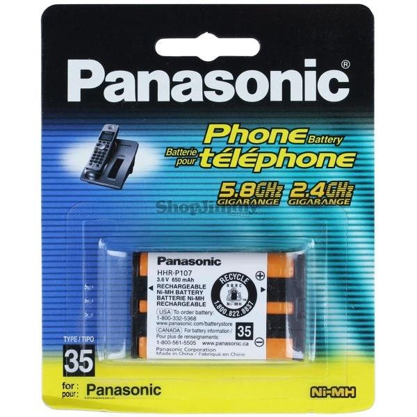 تصویر باتری تلفنی P107 پاناسونیک