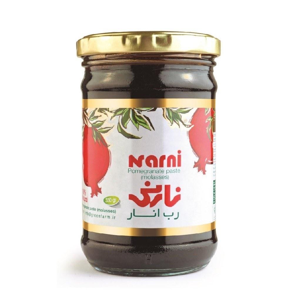 تصویر رب انار ارگانیک نارنی ۳۳۰ گرمی