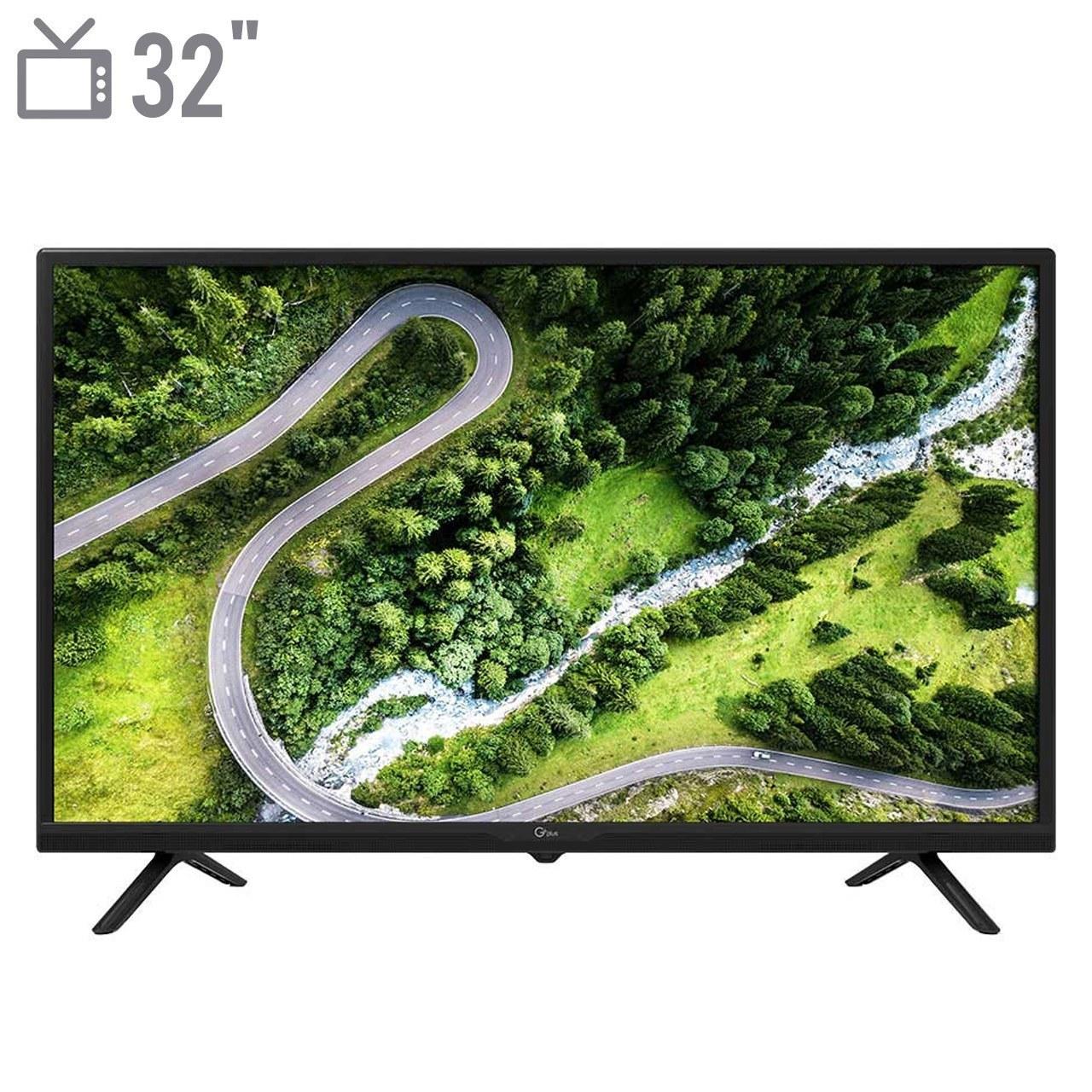 تصویر تلویزیون ال ای دی جی پلاس مدل 32JD612N سایز 32 اینچ Gplus 32JD612N LED TV 32 Inch