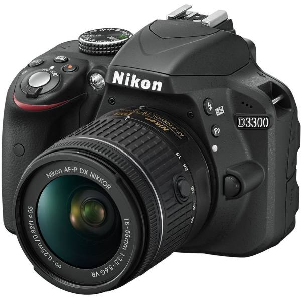 دوربین دیجیتال نیکون مدل D3300 Kit 18-55 DX ED II | Nikon D3300 Kit 18-55 DX ED II Digital Camera