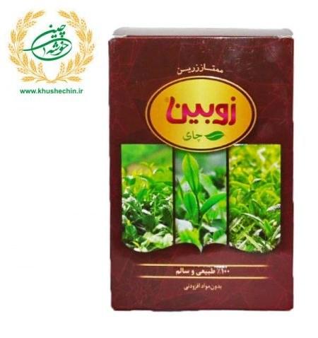 تصویر چای ۱۰۰% طبیعی ۴۵۰ گرمی زوبین