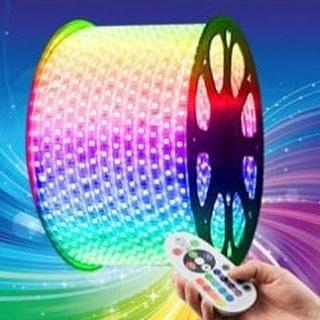 ریسه شلنگی هفت رنگ مدل SMDRGB