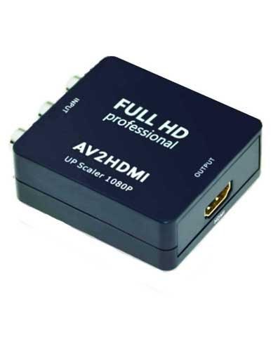 تصویر مبدل AV به HDMI جی بی ال مدل HD-2