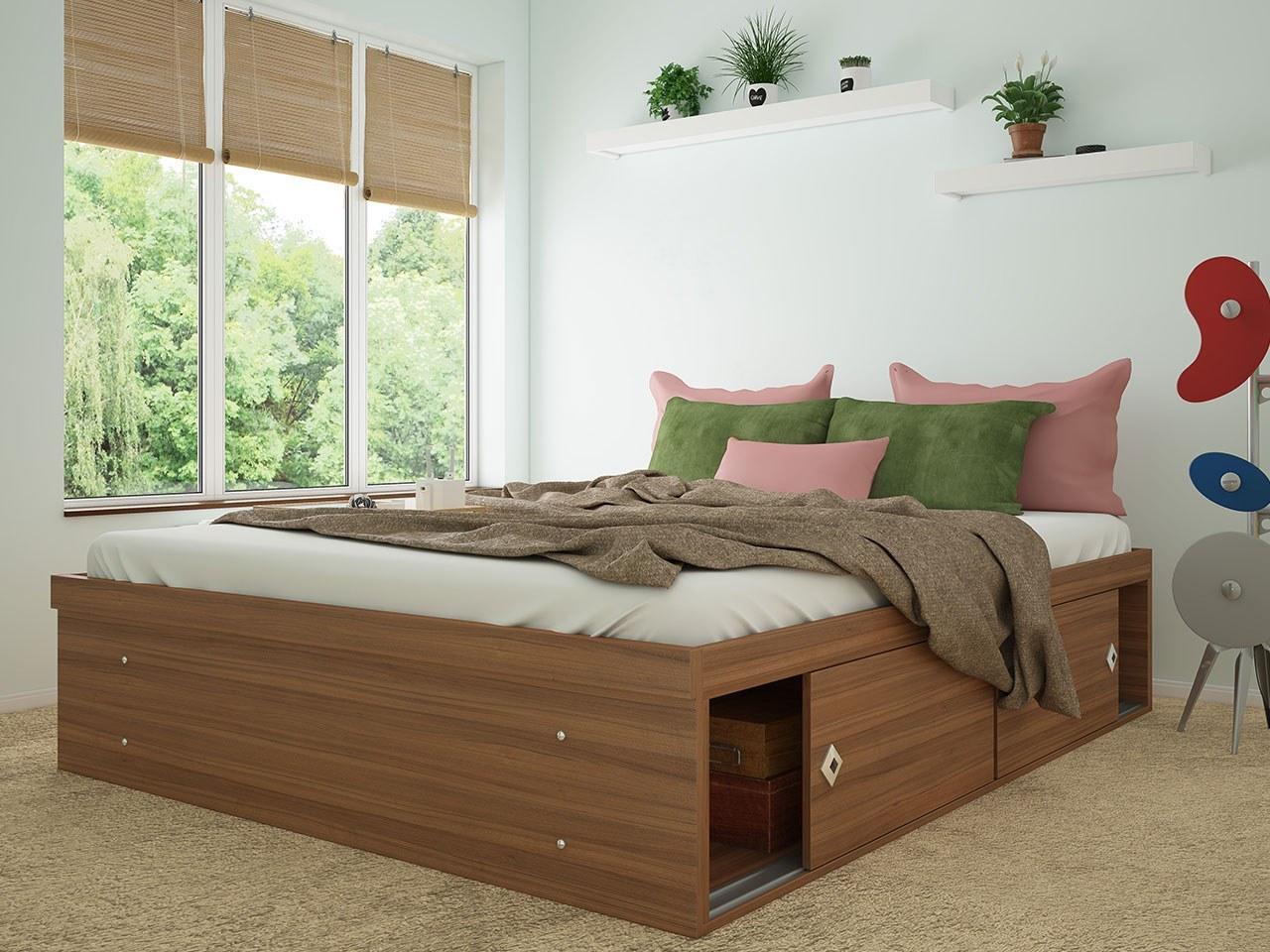 تخت خواب کشودار مدل M25