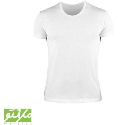 تصویر زیر پوش نیم آستین سفید سایز L