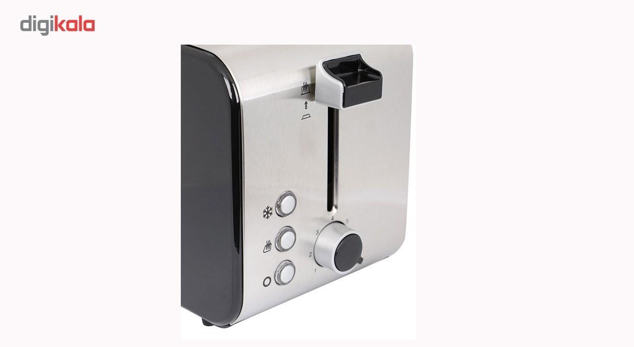 img توستر نان دلمونتی مدل DL560 Delmonti DL560 Bread Toaster