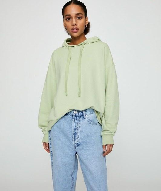 سویی شرت و هودی پول اند بیر با کد 5596/406/518 ( Basic relaxed fit hoodie )