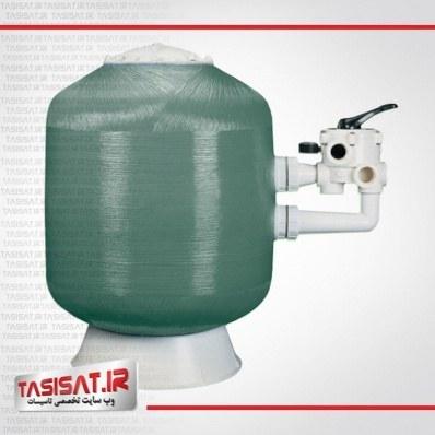 تصویر فیلتر شنی تصفیه آب استخر کریپسول مدل FB500D