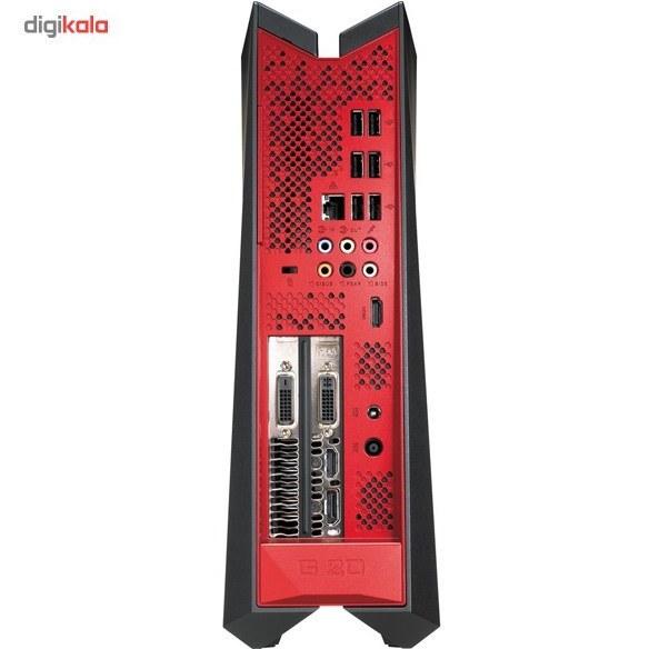 تصویر کامپیوتر دسکتاپ مخصوص بازی ایسوس مدل راگ جی 20 بی ام کیس آماده و نیمه آماده ایسوس ROG G20BM BH003S FX-770K 8GB 2TB+8GB SSD 2GB Gaming Desktop Computer