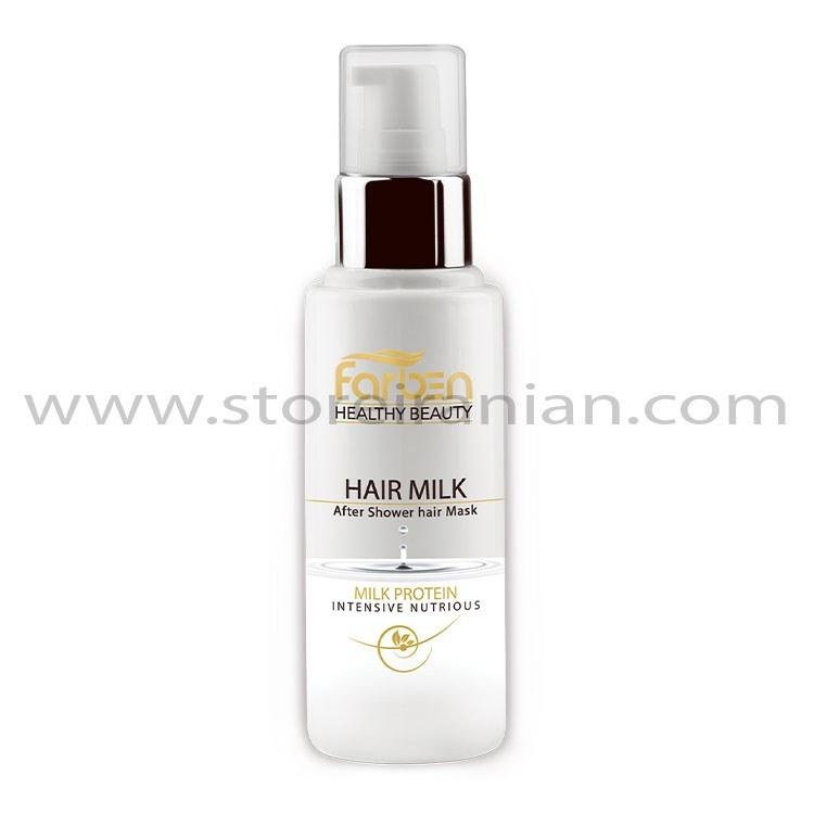 عکس شیر مو مغذی و ترمیم کننده فاربن حجم 100 میلی لیتر Farben Nourishing Hair Milk 100 ml شیر-مو-مغذی-و-ترمیم-کننده-فاربن-حجم-100-میلی-لیتر