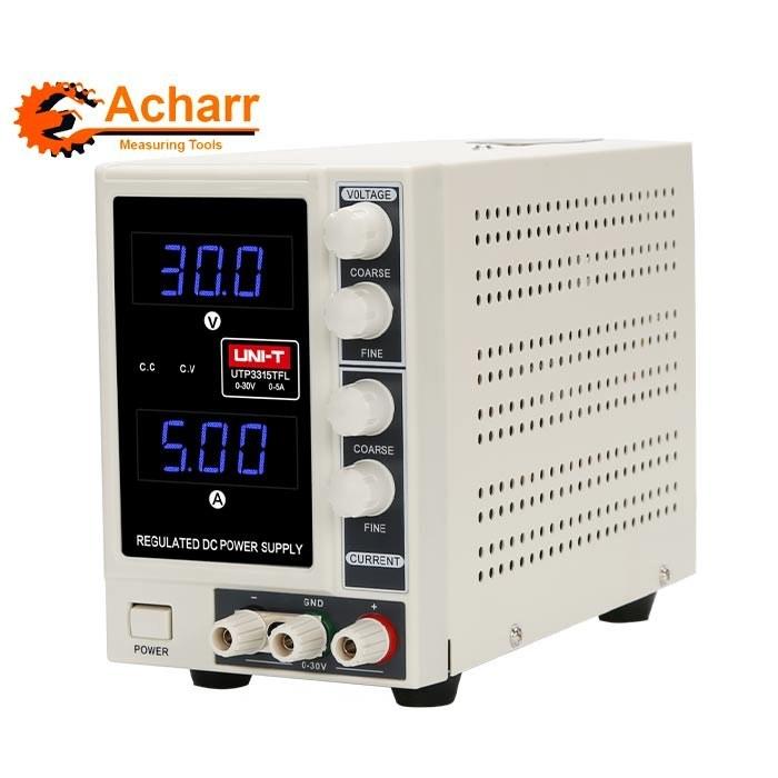 تصویر منبع تغذیه تک کانال یونیتی مدل UTP3315TFL UTP3315TFL DC Power Supply - UNI-T