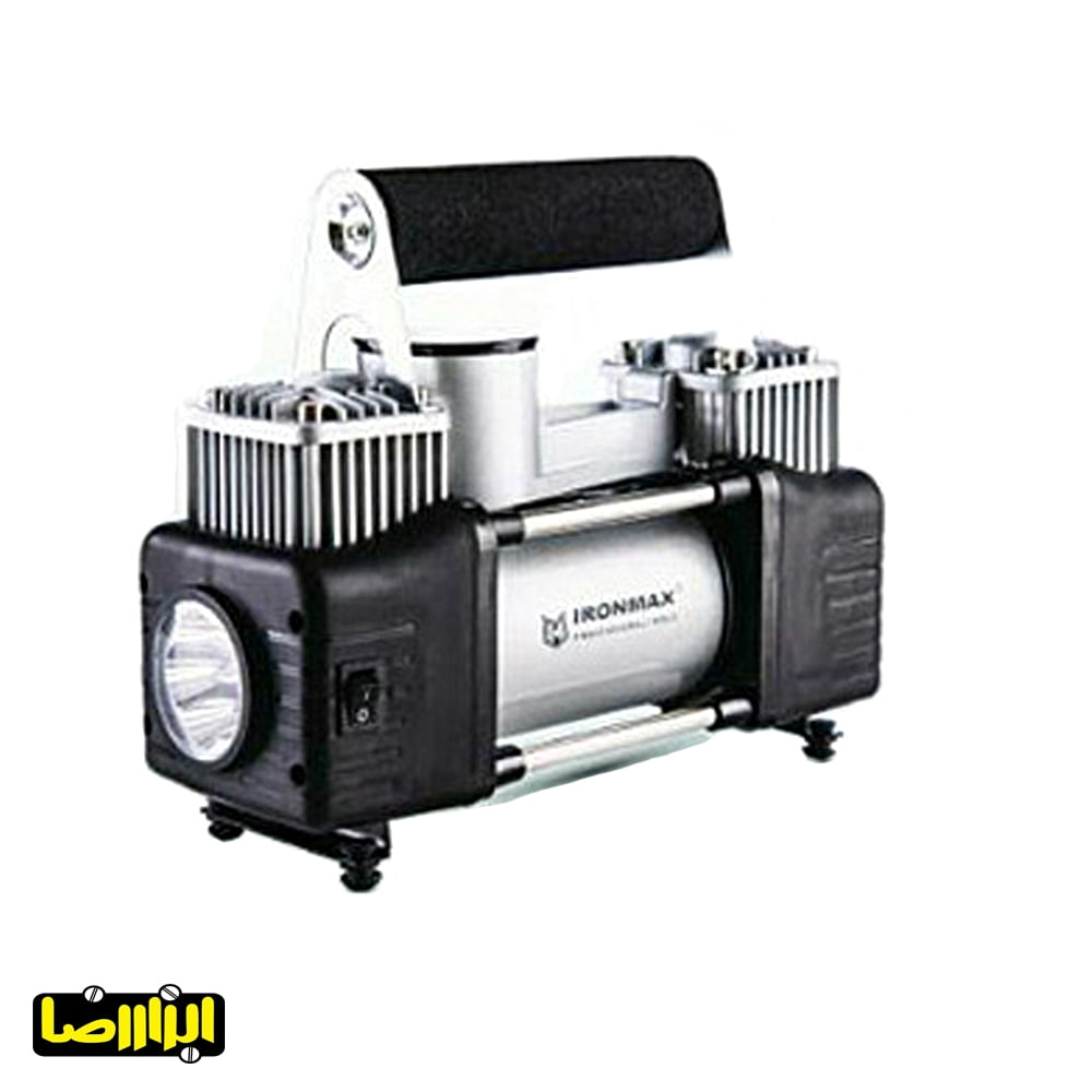 تصویر پمپ باد فندکی آیرون مکس دو سیلندر مدل IM-AC55A