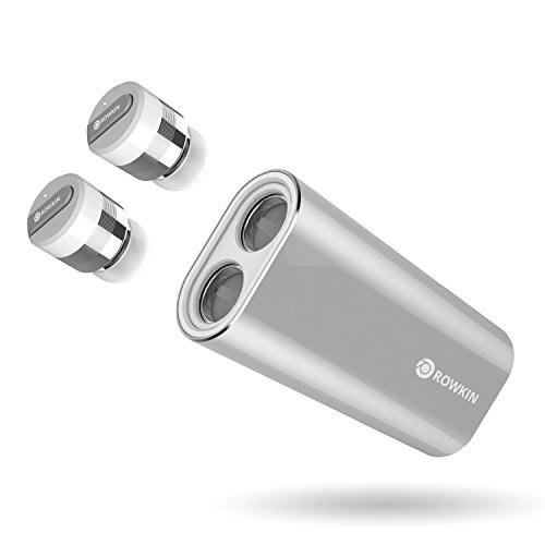 عکس شارژر Rowkin Bit Stereo: True Wireless Earbuds w / Charging Case. هدست بلوتوث کوچکترین هدست بی سیم بدون سیم بی سیم هدست w / میکروفن و کاهش نویز برای آندروید و آیفون (نقره ای) Rowkin Bit Charge Stereo: True Wireless Earbuds w/Charging Case. Bluetooth Headphones Smallest Cordless Hands-free Mini Earphones Headset w/Mic & Noise Reduction for Android & iPhone (Silver) شارژر-rowkin-bit-stereo-true-wireless-earbuds-w-charging-case-هدست-بلوتوث-کوچکترین-هدست-بی-سیم-بدون-سیم-بی-سیم-هدست-w-میکروفن-و-کاهش-نویز-برای-اندروید-و-ایفون-نقره-ای