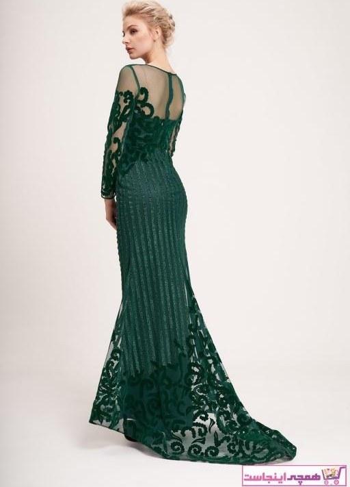 تصویر خرید اینترنتی لباس مجلسی خاص برند La Vita e Bella رنگ سبز کد ty35727480