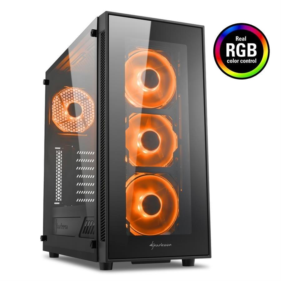تصویر کیس شارکن مدل TG5 RGB کیس Case شارکن TG5 RGB ATX Midi Tower