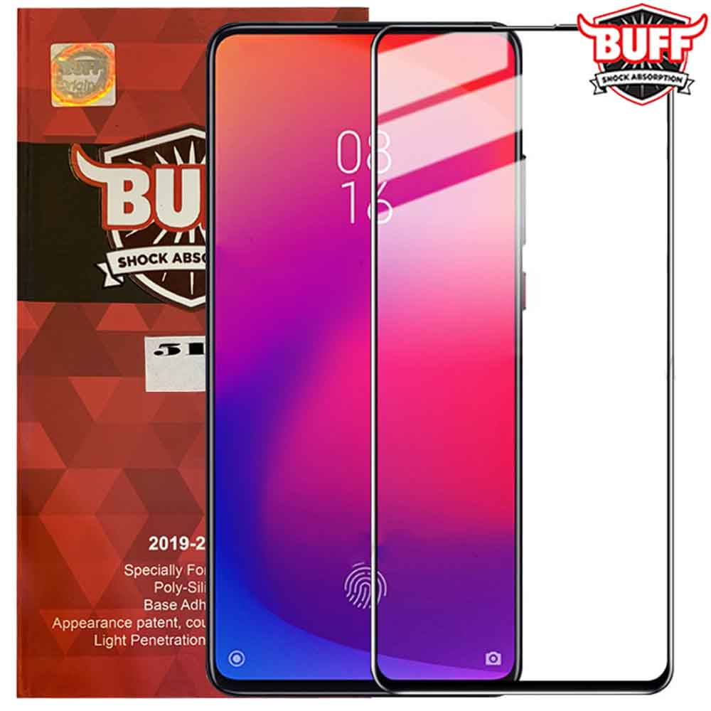 محافظ صفحه بوف شیائومی BUFF 9D Formulated Glass Redmi K20 | Redmi K20 Pro |
