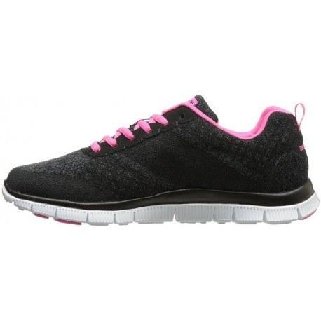 کفش پیاده روی زنانه اسکیچرز مدل Skechers Simply Sweet blackpink Women Urban Stre