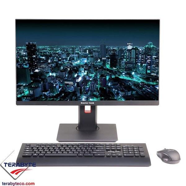 تصویر کامپیوتر همه کاره 24 اینچی مسترتک ZX240-C781SB Mastertech ZX240-C781SB - 24 inch All-in-One PC