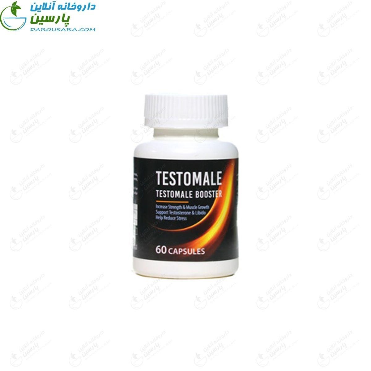 کپسول تستسترون تستومیل طبیعت افزایش میل جنسی زنده  ۶۰ عدد |