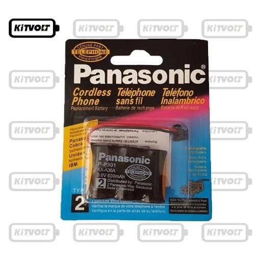 تصویر باتری تلفن بی سیم پاناسونیک مدل P-P102