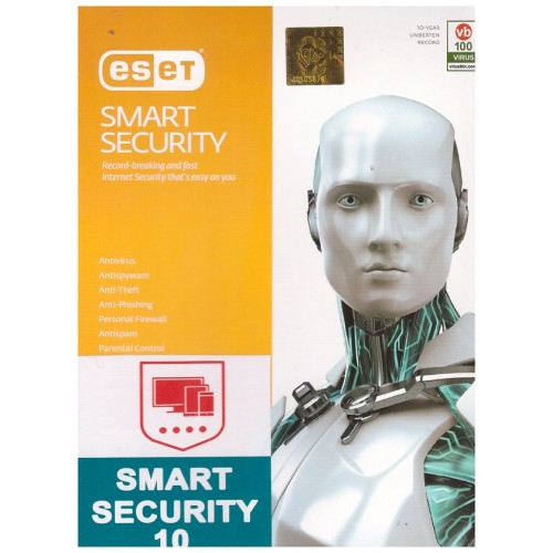 ESET Internet Security 2019 (2PC+2Mobail)
